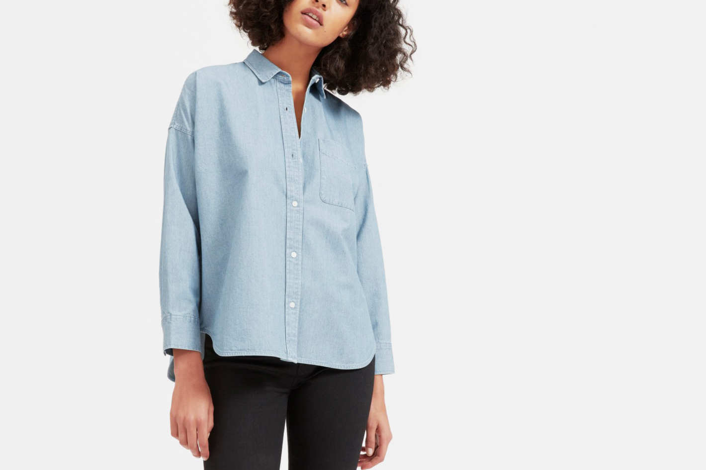 Everlane Square Jean Shirt