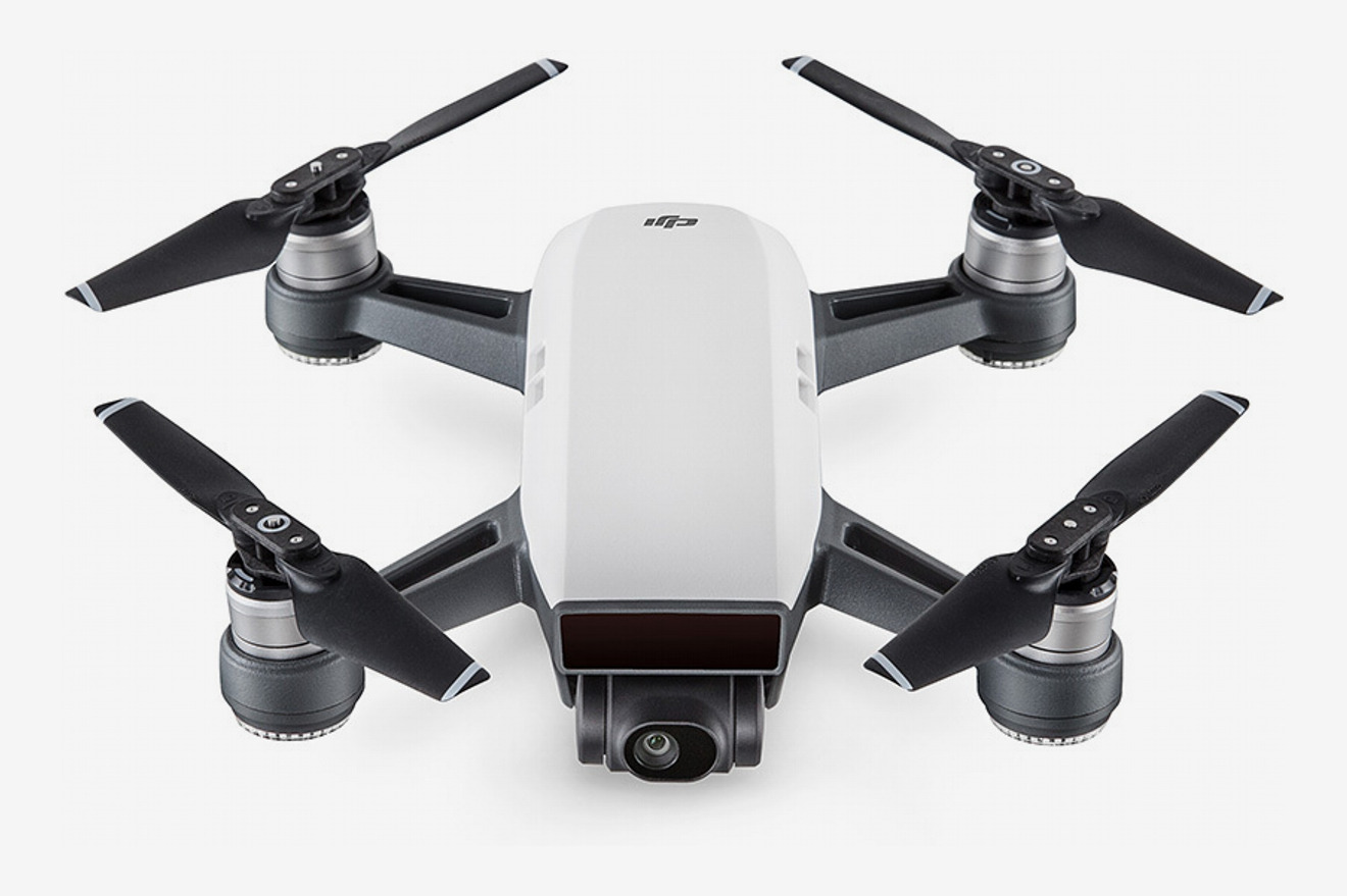 DJI Spark Alpine White With Remote Control