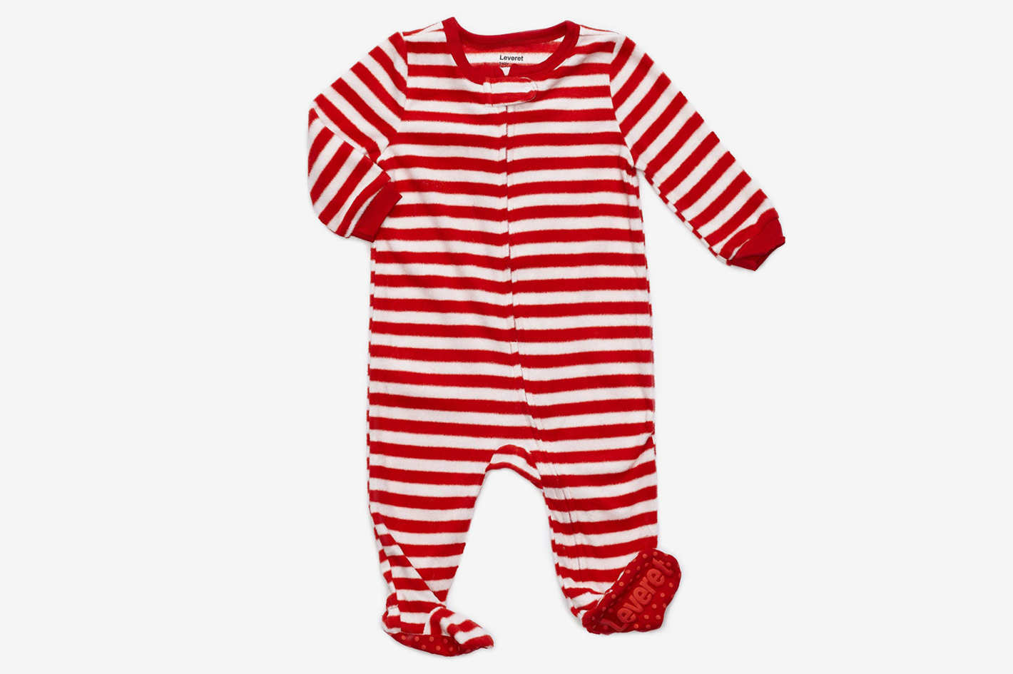 Leveret Fleece Baby Footed Pajamas