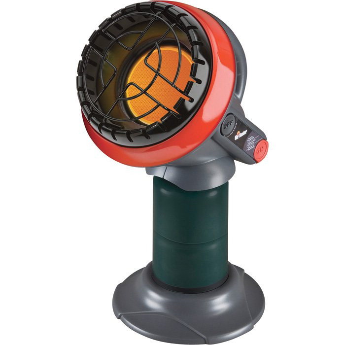 "Mr. Heater ""Little Buddy"" Portable Radiant Heater (propane-powered)"