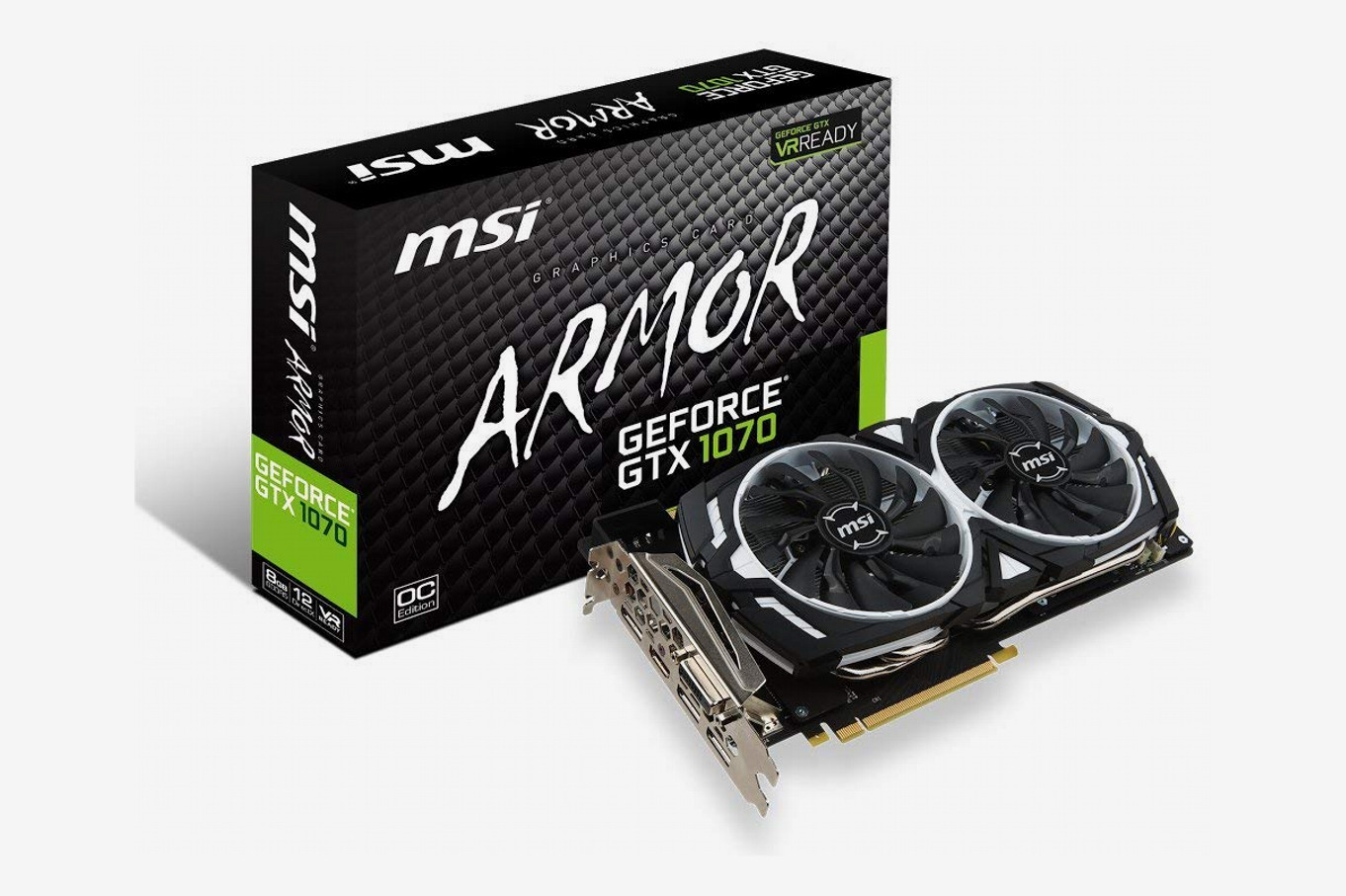 MSI Gaming GeForce GTX 1070 Armour 8GB Graphics Card