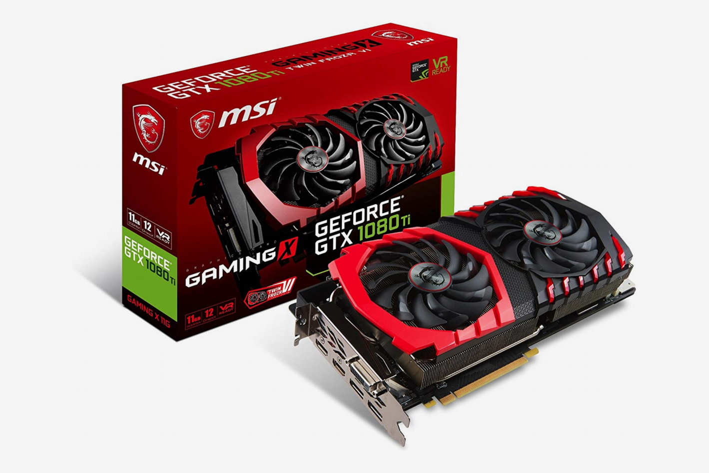 MSI Gaming GeFroce GTX 1080 11GB Graphics Card