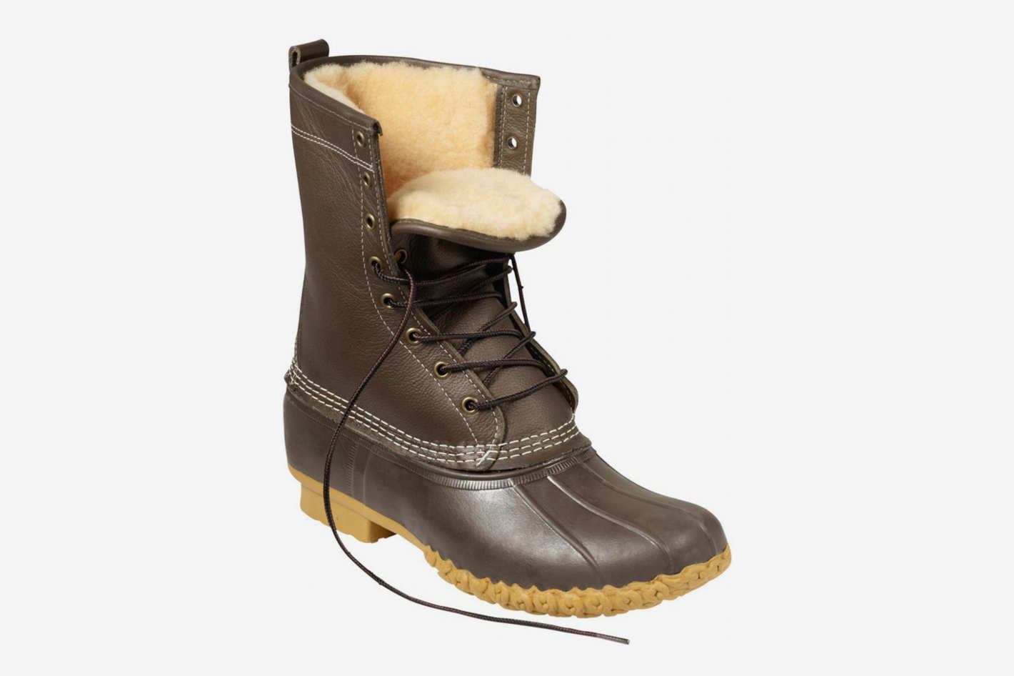 "L.L. Bean Boots, 10"" Shearling-Lined"