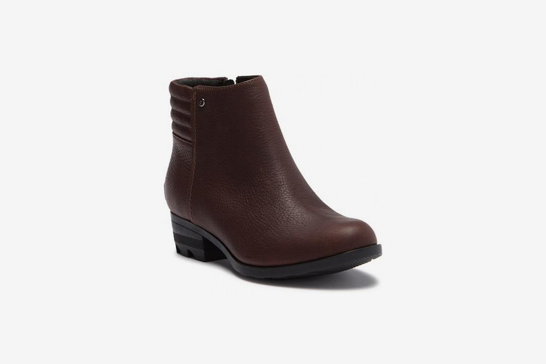 Danica Short Waterproof Leather Boot