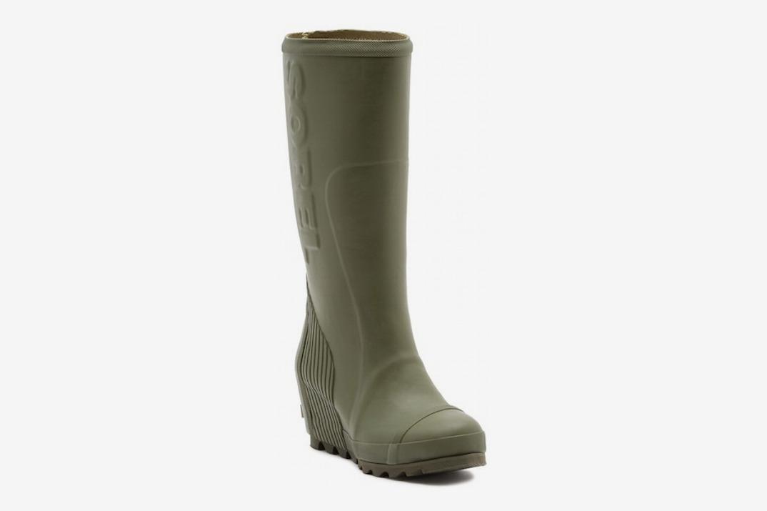 Sorel Joan Tall Wedge Waterproof Rain Boot