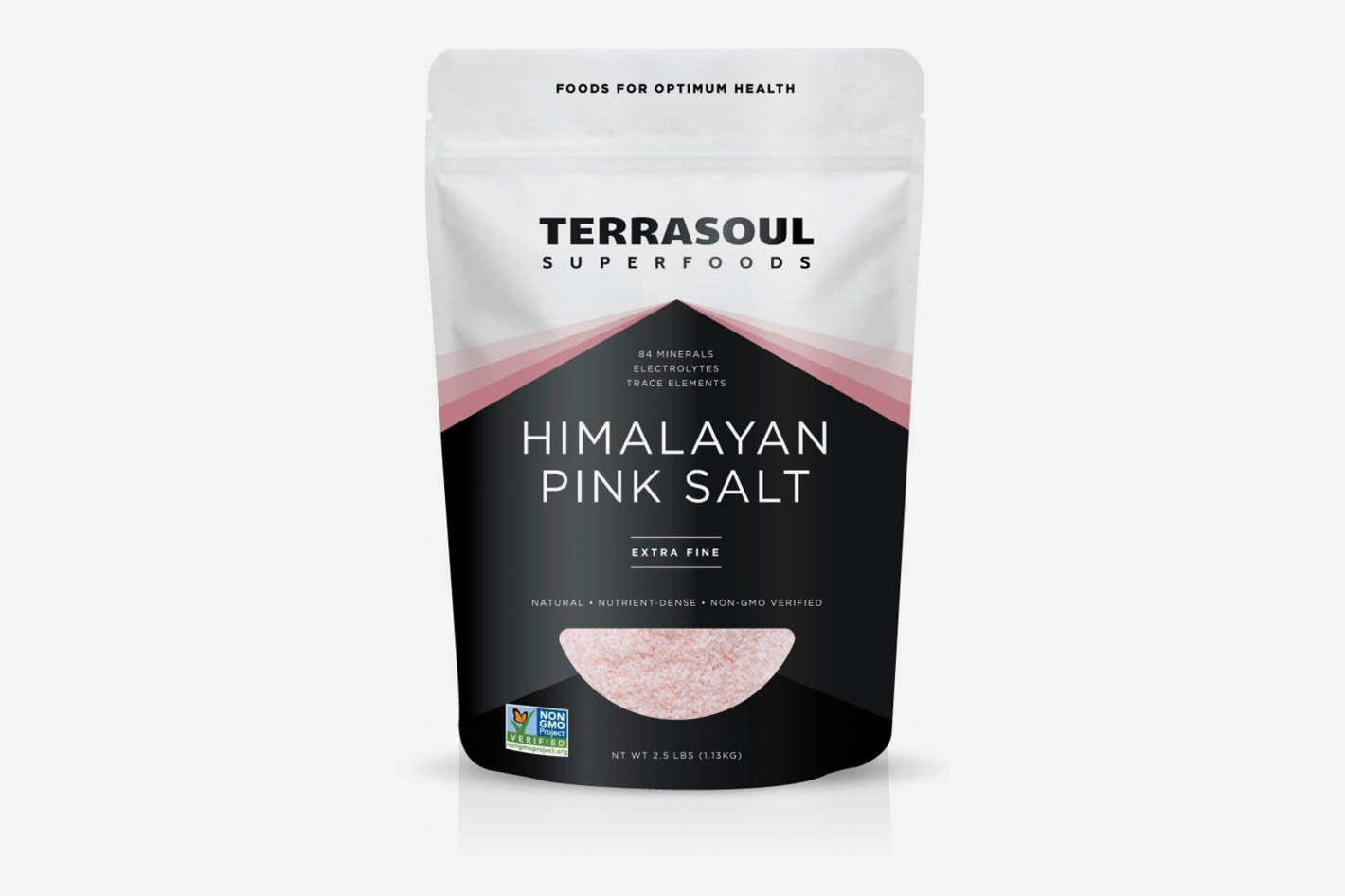 Terrasoul Superfoods Himalayan Pink Salt, 2.5 Pounds