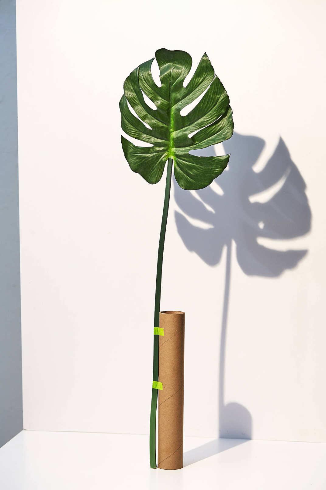 Monstera Leaf Faux Plant