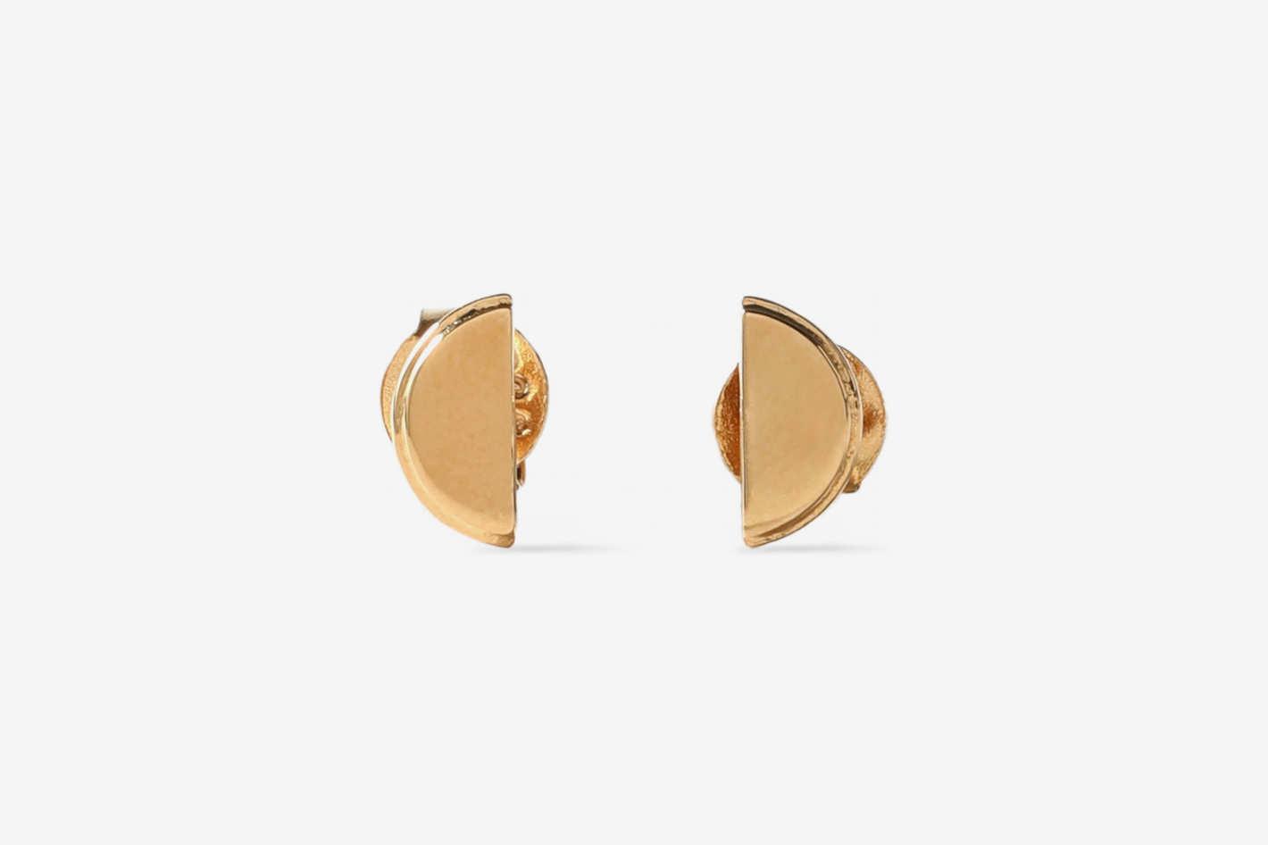 Rachel Jackson Gold-Tone Earrings