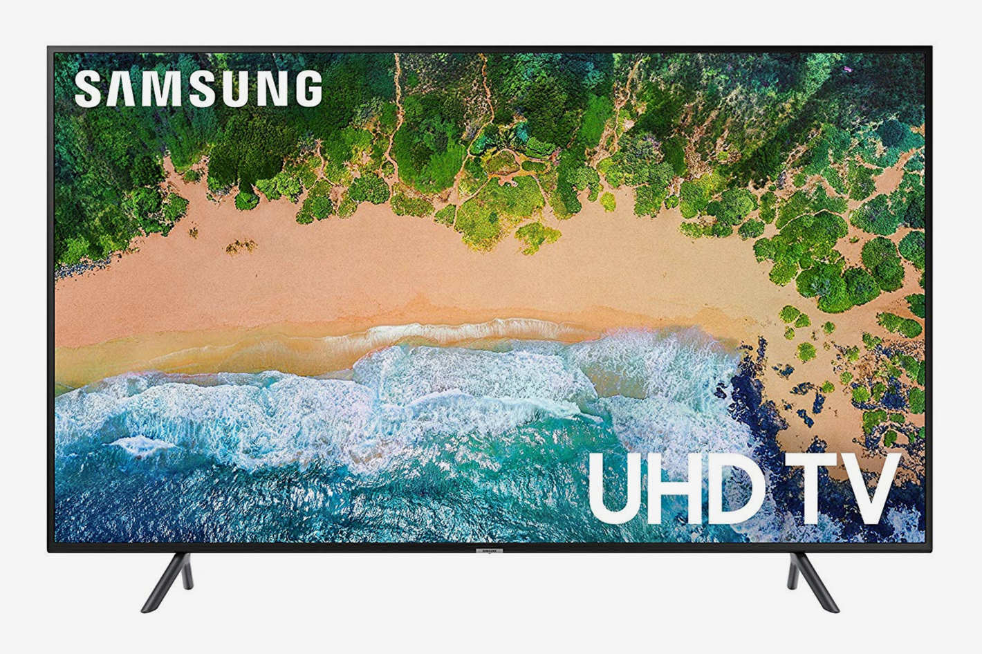 "Samsung UN43NU7100 Flat 43"" 4K UHD 7 Series Smart LED TV"