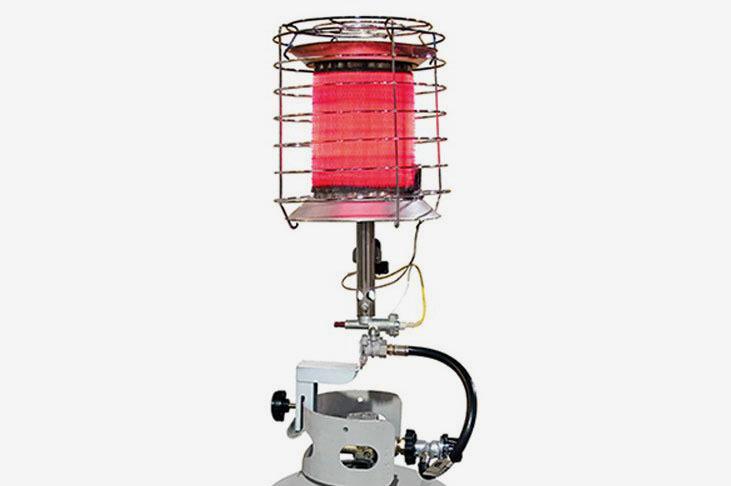 Dura Heat  Propane 360 Degree Tank Top Heater