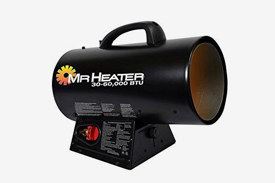 Mr. Heater 60,000 BTU Portable Propane Forced Air Heater