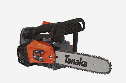 Tanaka 14-Inch Top Handle Chainsaw with Pure Fire Engine