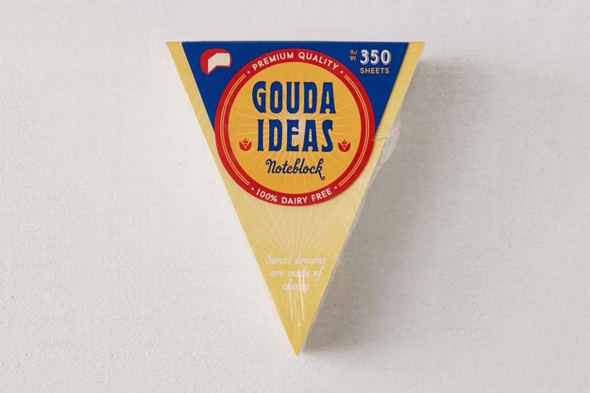Gouda Ideas Notepad