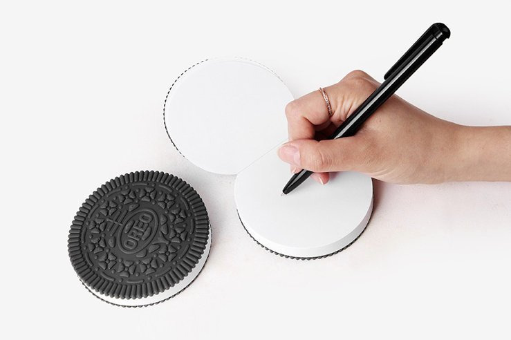 Oreo Cookie Notepad