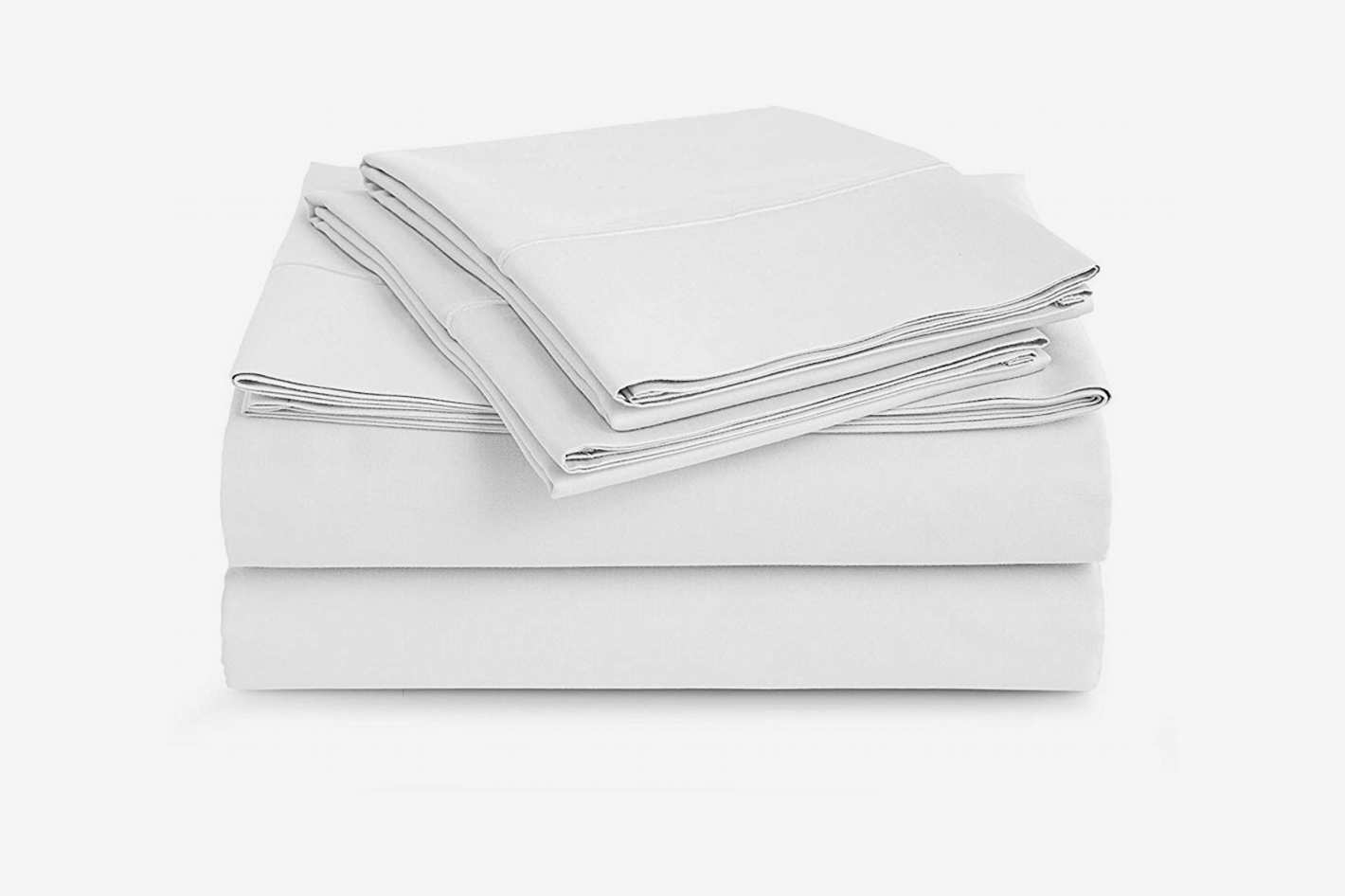 Cau Home Collection Luxury 100 Pima Cotton 500 Thread Count Ultra Soft Solid Sheet Set King