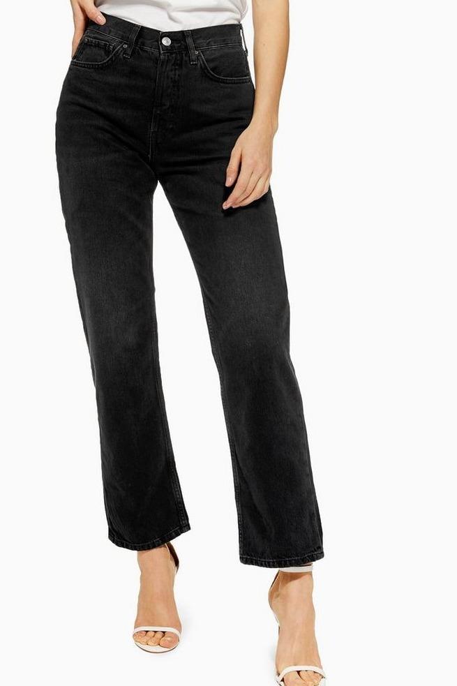 TopshopNew Boyfriend Jeans in Black