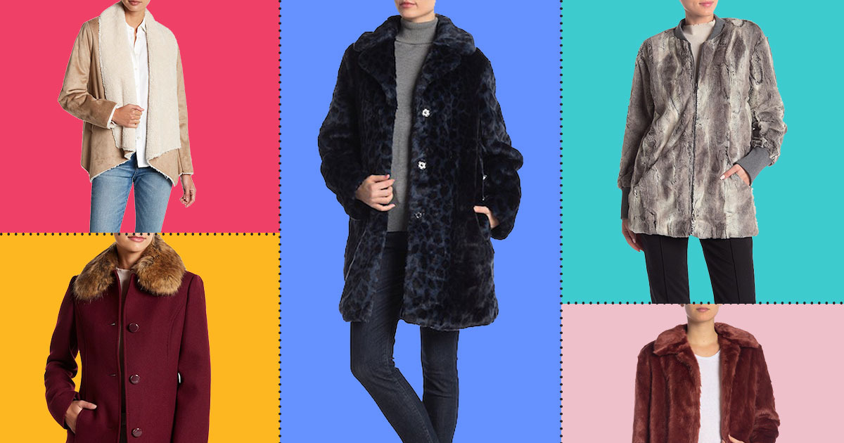 51aabf4fe A Lot of Faux-Fur Coats Are Up to 80 Percent Off on Nordstrom Rack Right Now