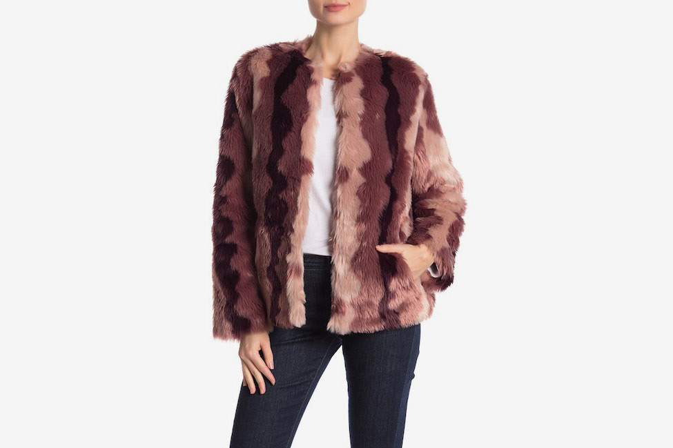 ee31bf063 Nordstrom Rack Faux-Fur Coats and Vests Fall Sale 2018
