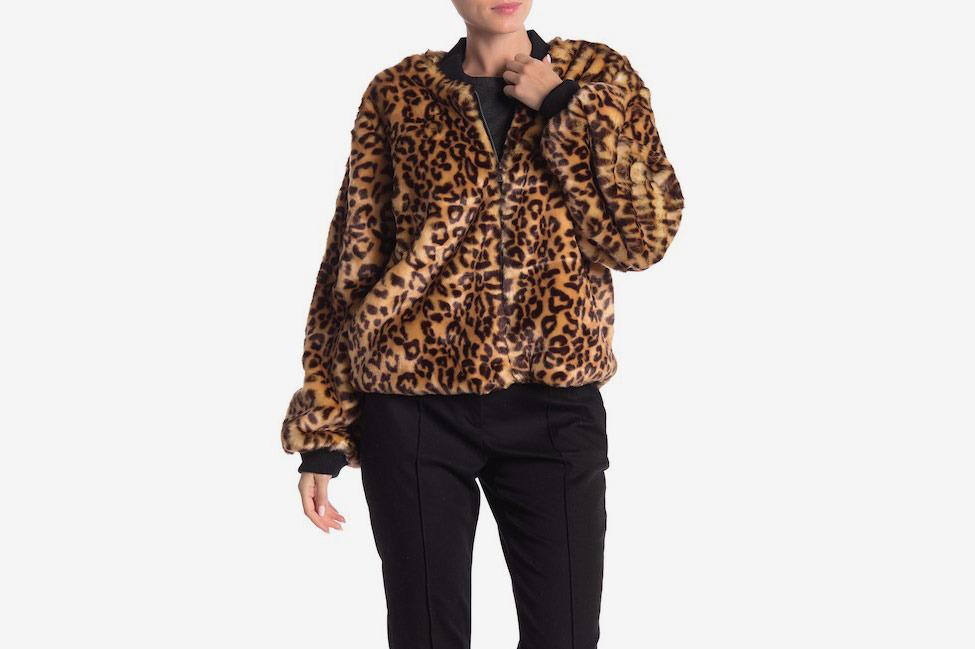 Splendid Faux Fur Jacket