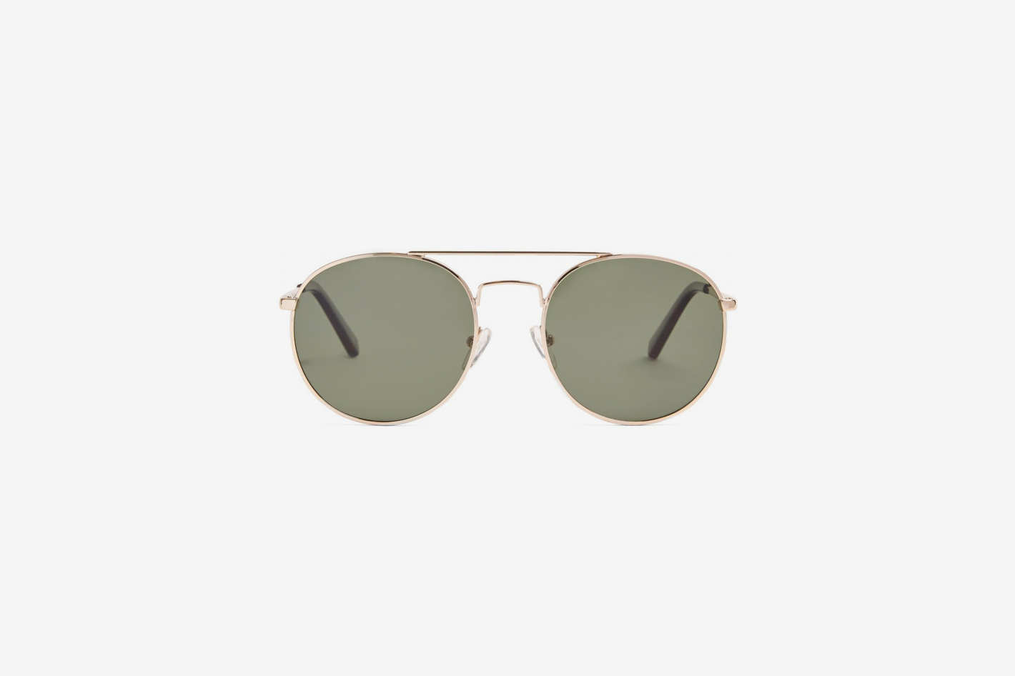 Le Specs Revolution round-frame metal sunglasses
