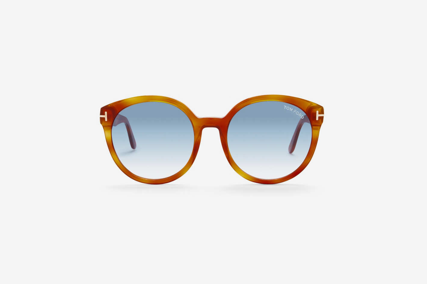 Tom Ford 55mm Oversized Sunglasses
