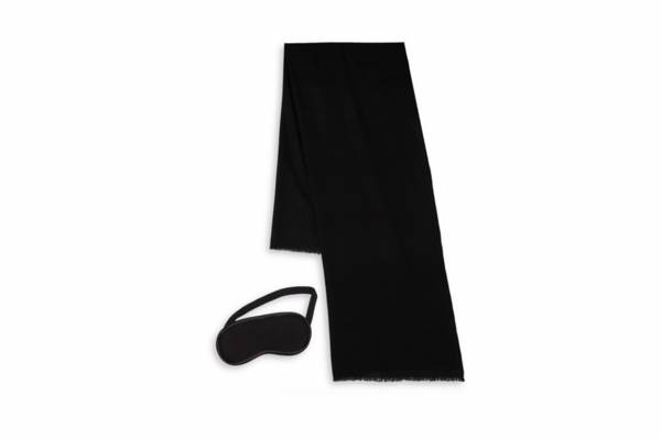 UGG Australia Two-Piece Cashmere Scarf and Eye Mask Travel Gift Set