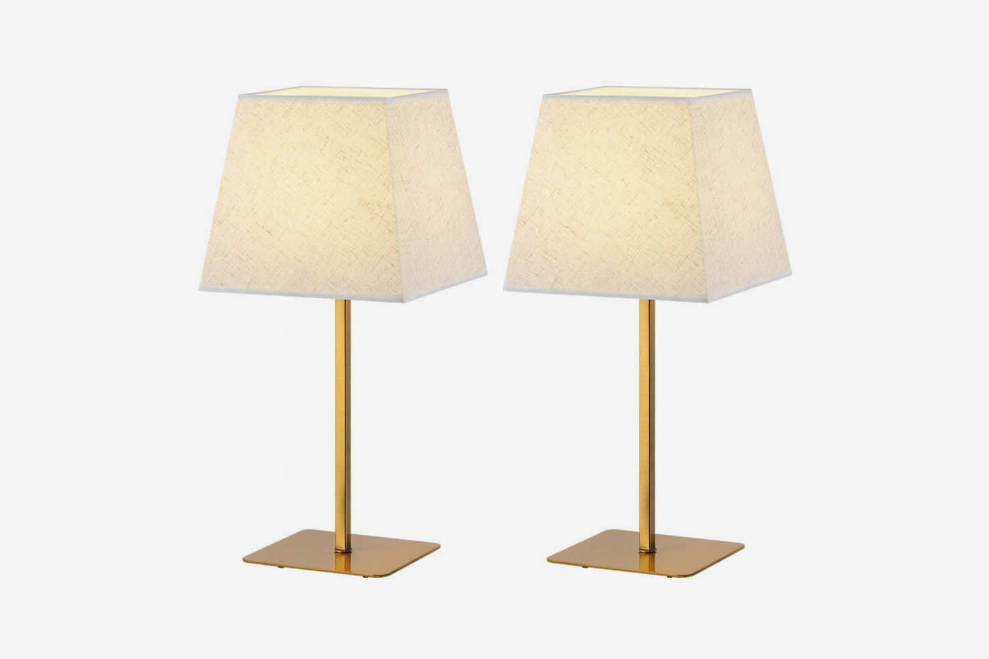 Haitral Gold Table Lamps Set Of 2