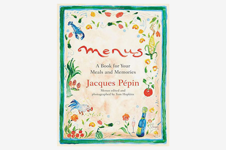 Menus: A Book for Your Meals and Memories