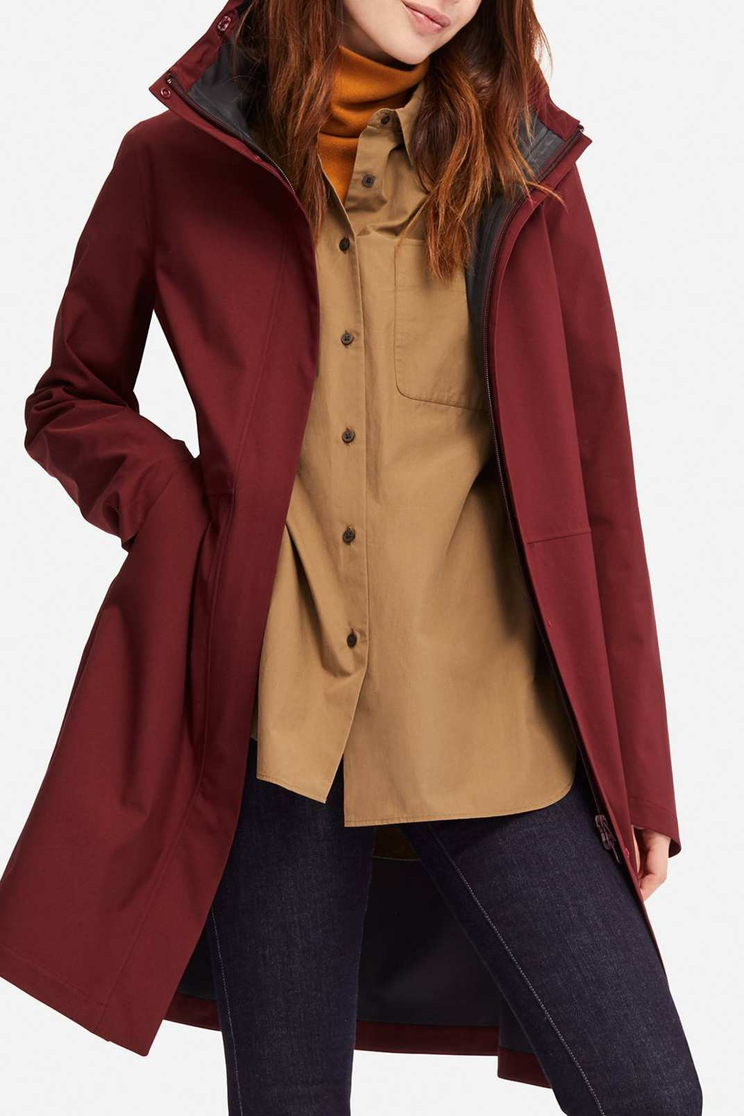 Uniqlo Women's Blocktech Coat