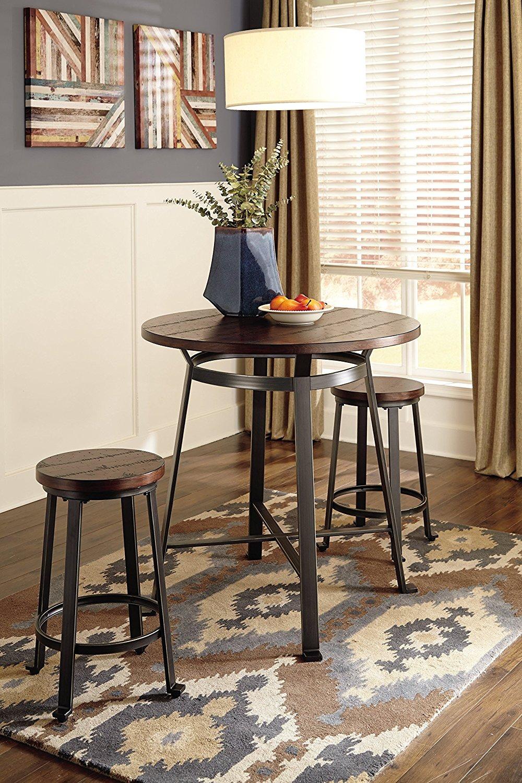 Ashley Furniture Signature Design - Challiman Dining Room Bar Table