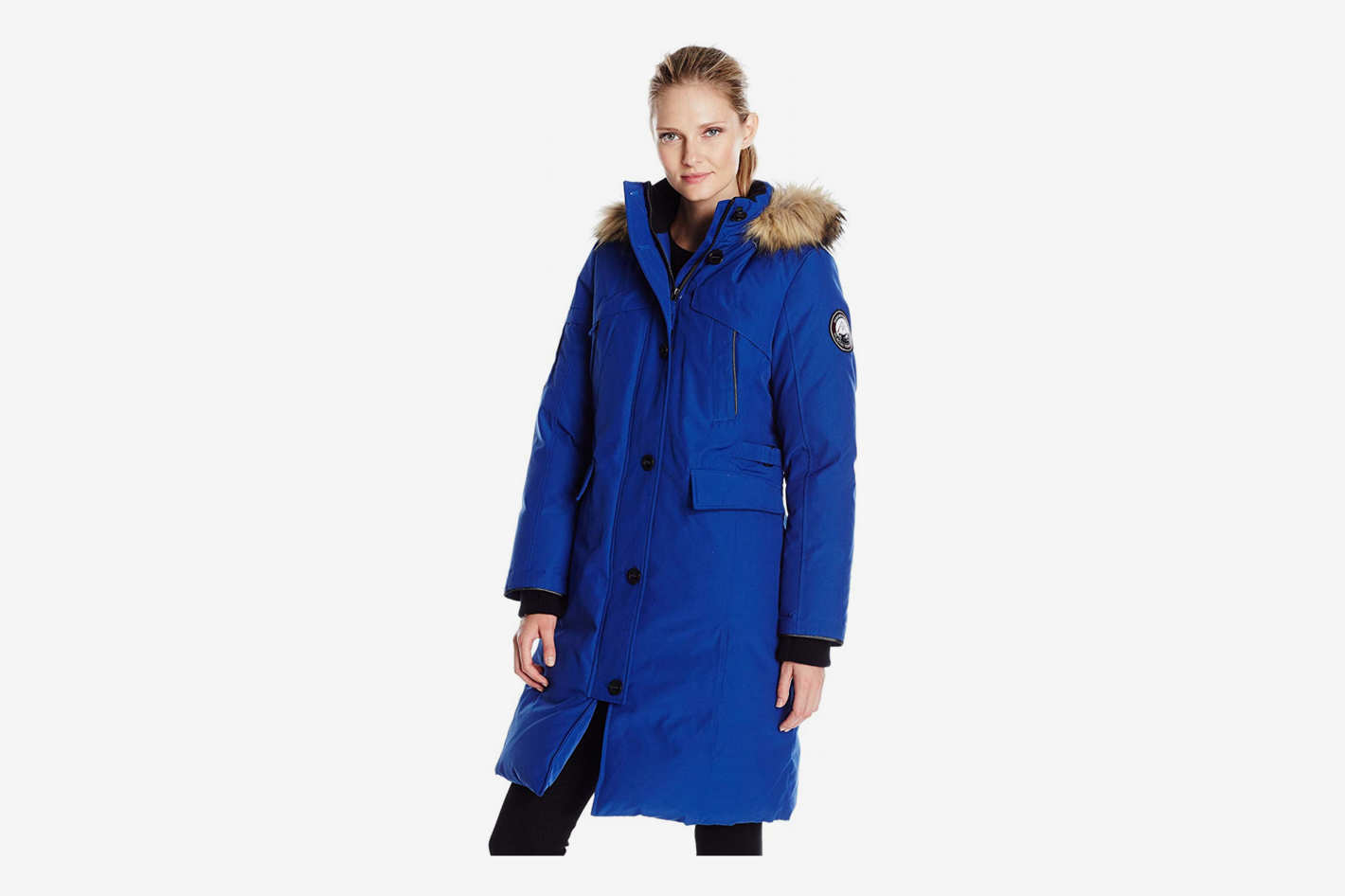 fa0019a912d9 Alpinetek Women's Long Down Parka