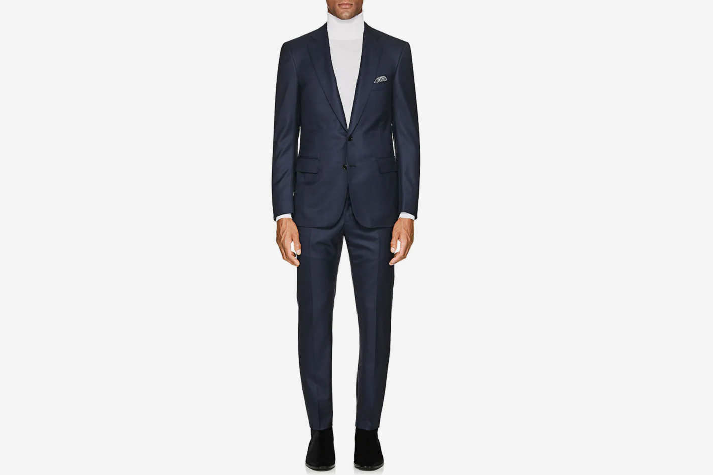 Cifonelli Neat Wool Two-Button Suit
