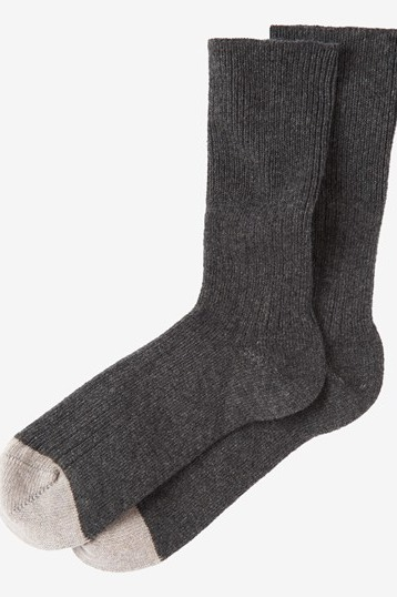 Toast Recycled Cashmere Socks