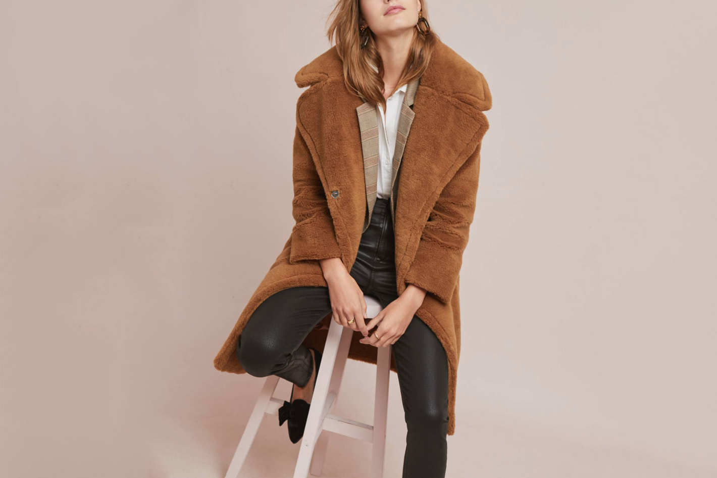 679456c1 $179 at And Other Stories. Buy · Anthropologie Teddy Faux Fur Coat