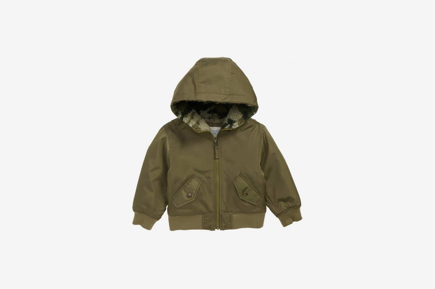 Crewcuts by J.Crew Hooded Bomber Jacket