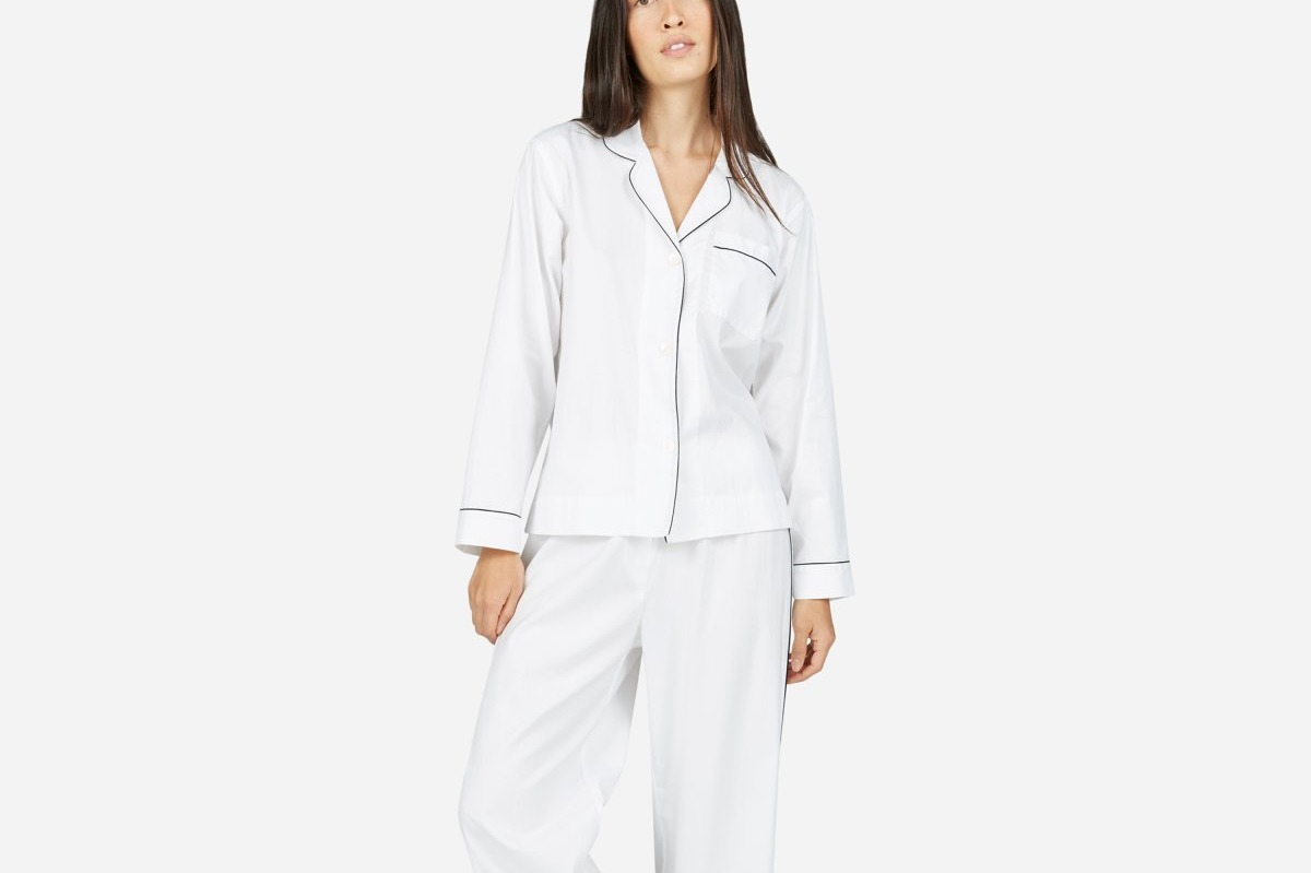 Everlane Oxford Pajama Shirt