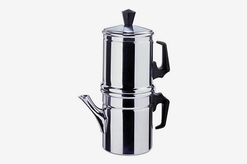 ilsa neapolitan 6 cup aluminum coffee maker