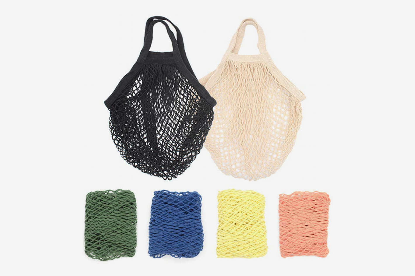 Stoncel Cotton Net Shopping Tote (6-pack)