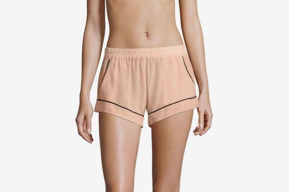 Maison Du Soir Jaclyn Silk Shorts