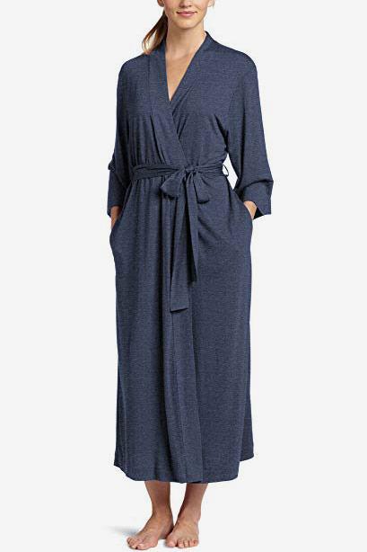 Natori Women's Shangri-La Solid Knit Robe