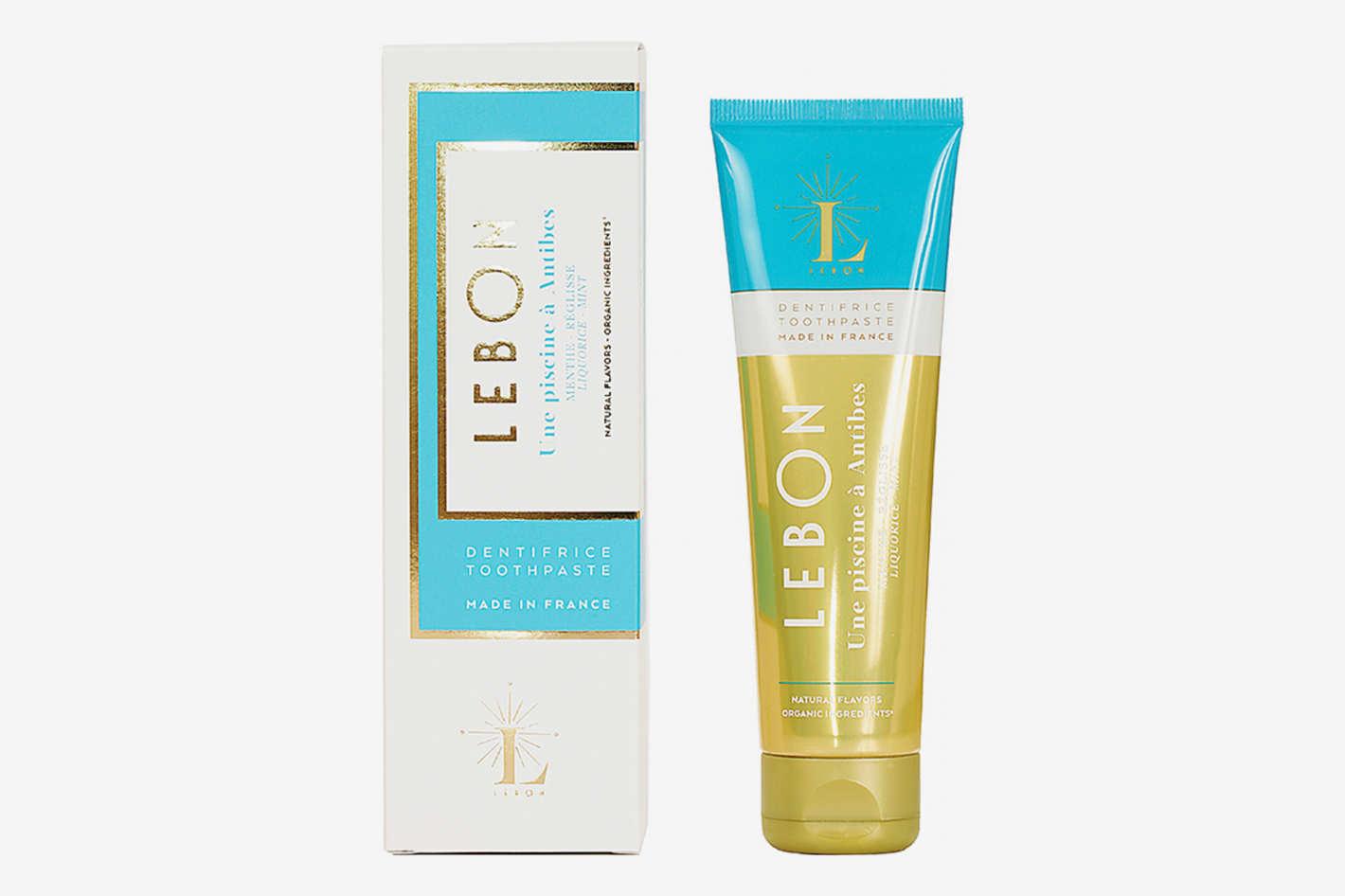 Lebon Piscine A Antibes (Liquorice + Mint) Organic Toothpaste