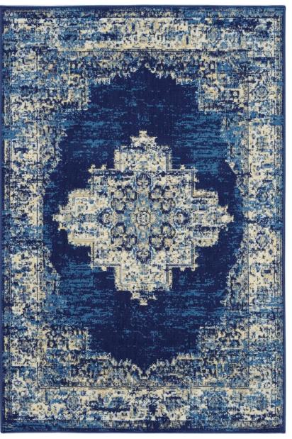Susan Blue Area Rug