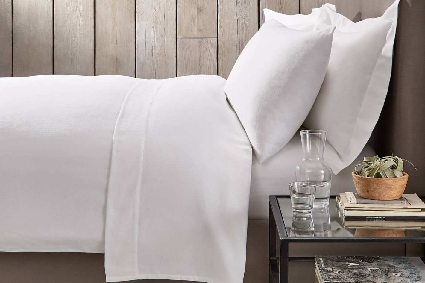 d2d7d7de068 The White Company Harrison Flannel Duvet Cover