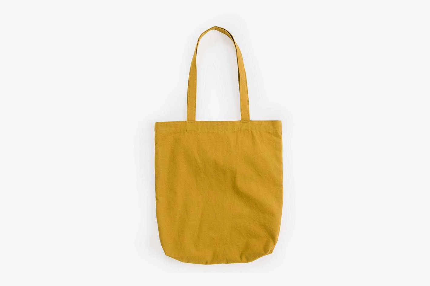 BAGGU Merch Tote, Simple and Easy Canvas Tote Bag