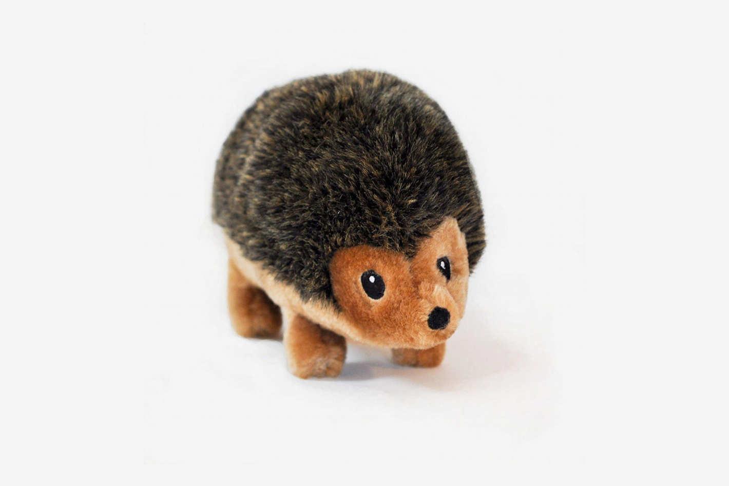 ZippyPaws 12-Inch Hedgehog Squeaky Plush Dog Toy