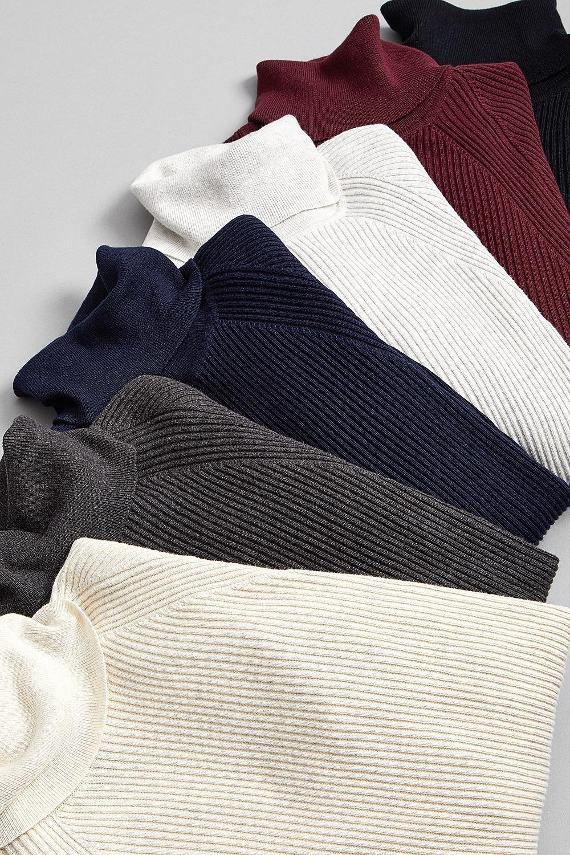 I.N.C. Ribbed Turtleneck Sweater