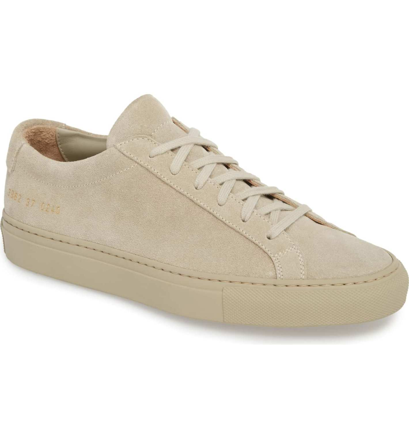 Common Projects Achilles Sneaker (Women), Taupe Suede