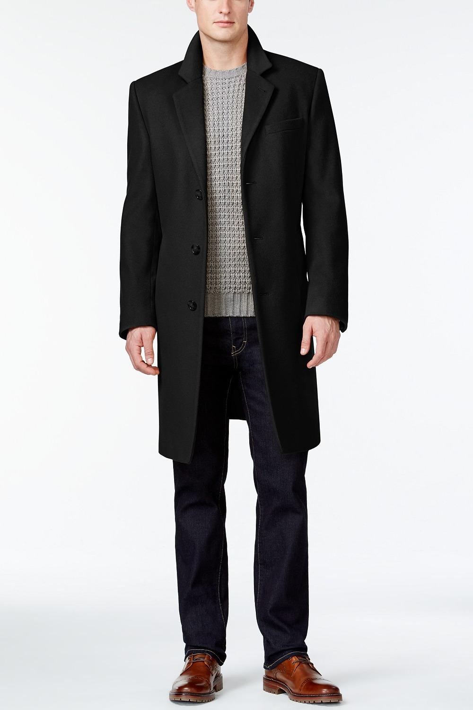 MICHAEL Michael Kors Wool-Blend Modern-Fit Overcoat