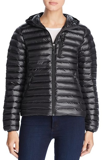 Marmot Savant Short Hooded Puffer Jacket