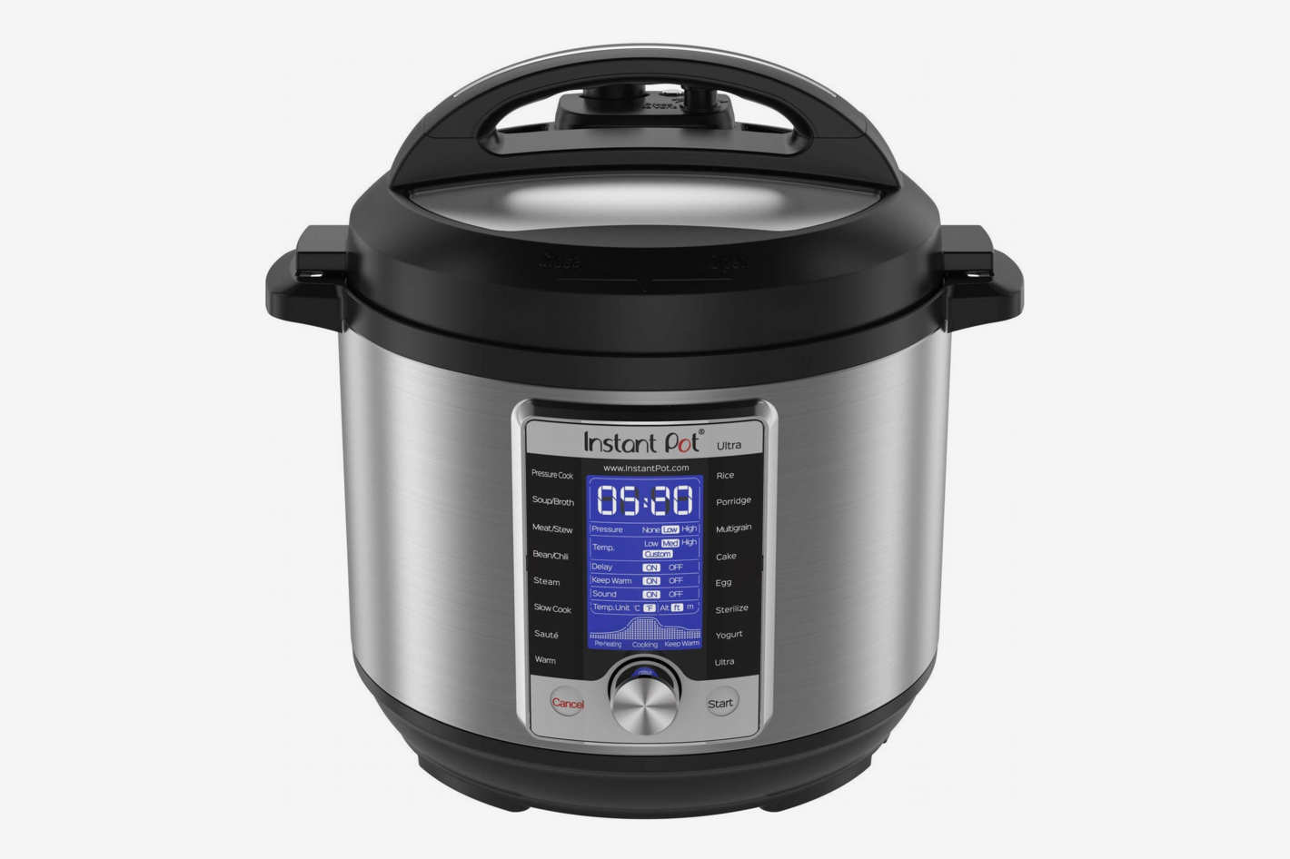 Instant Pot Ultra 6 Qt 10-in-1 Multi- Use Programmable Pressure Cooker